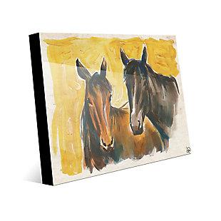 Free Spirits 24X36 Acrylic Wall Art, Yellow/Brown, rollover