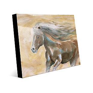Epona 24X36 Acrylic Wall Art, Brown/Beige, large