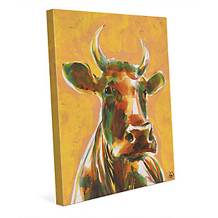 Audelia Sunset 24X36 Canvas Wall Art, Yellow/Brown, rollover