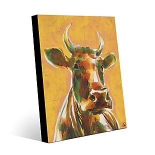 Audelia Sunset 24X36 Metal Wall Art, Yellow/Brown, rollover