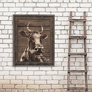 Audelia Epsilon 20X30 Barnwood Framed Canvas, , large
