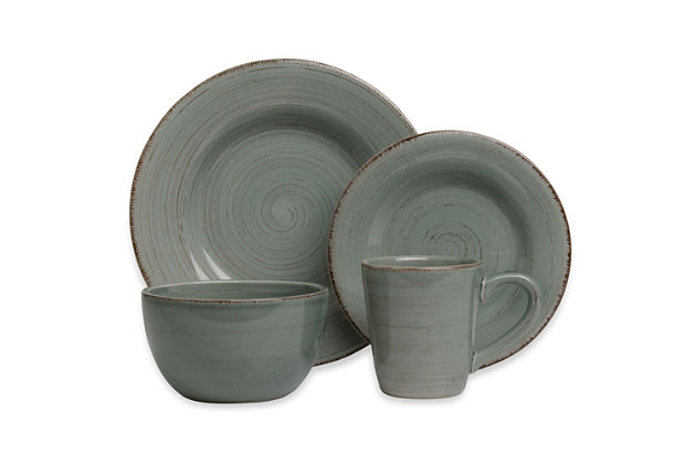 Home Accents 16-Piece Dinnerware Set by Ashley HomeStore,...