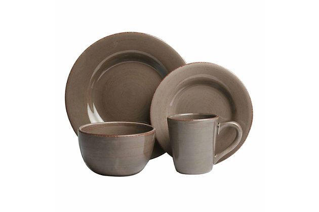 Home Accents 16-Piece Dinnerware Set  large ...  sc 1 st  Ashley Furniture HomeStore & Home Accents 16-Piece Dinnerware Set | Ashley Furniture HomeStore