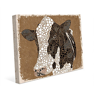 Dottie The Cow Epsilon 20X30 Canvas Wall Art, , rollover