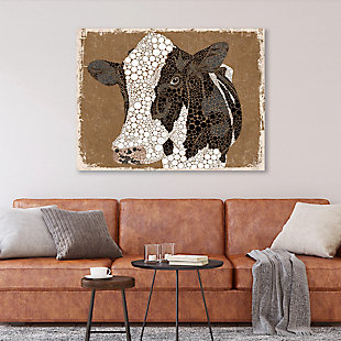 Dottie The Cow Epsilon 16X20 Metal Wall Art, , large