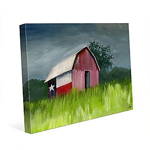 After The Storm Omega 24X36 Canvas Wall Art, Multi, large