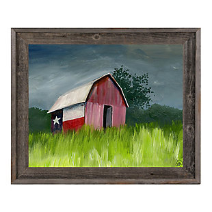 After The Storm Omega 24x36 Barnwood Framed Canvas, Multi, rollover