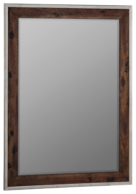 Ashley Home Accents Accent Mirror, Brown