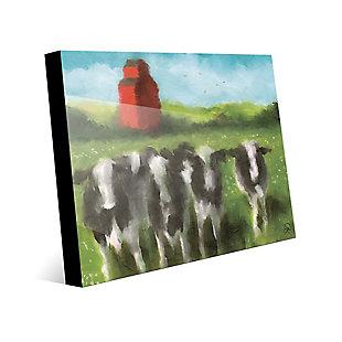 Curious Cows 30X40 Acrylic Wall Art, , large