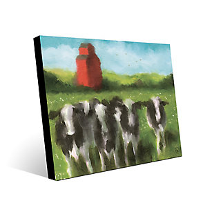 Curious Cows 16X20 Metal Wall Art, , rollover