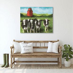 Curious Cows 16X20 Metal Wall Art, , large