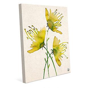 Wild Wild Flowers Alpha 16X20 Canvas Wall Art, , large