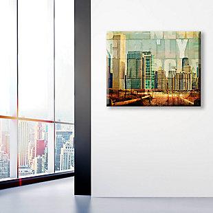 Urban City 16 x 20 Canvas Wall Art, , large