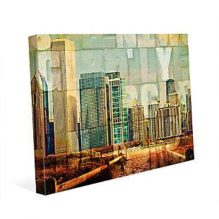 Urban City 24 x 36 Canvas Wall Art, , rollover