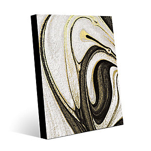 Howlite and Onyx 16 x 20 Metal Wall Art, , rollover