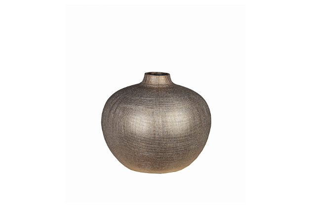Black Home Accents Vase by Ashley HomeStore