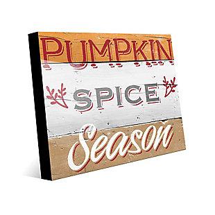 Pumpkin Spice Season - Tan 24X36 Acrylic Wall Art, Multi, large