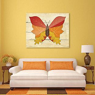 Butterfall - Plank 24X36 Acrylic Wall Art, Multi, rollover