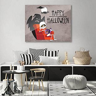 Halloween - Gray 24X36 Acrylic Wall Art, Black, rollover