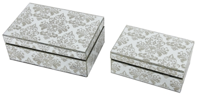 Home Accents Jewelry Box (Set of 2) by Ashley HomeStore, ...