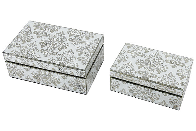 Home Accents Jewelry Box (Set of 2), , large