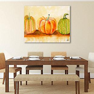 Pumpkins Beta 24X36 Acrylic Wall Art, Orange, rollover