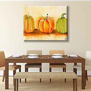 Pumpkins Beta 24X36 Canvas Wall Art, Orange, rollover