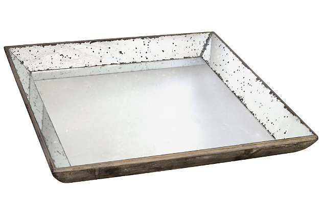 Black Home Accents Tray by Ashley HomeStore