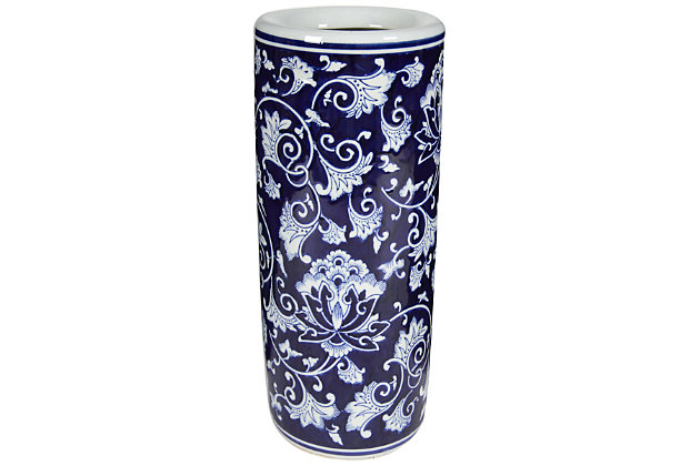 Home Accents Umbrella Stand by Ashley HomeStore, Blue