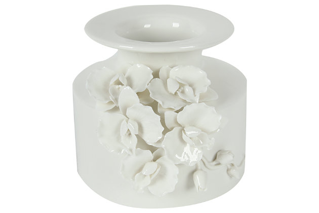 White Home Accents Vase by Ashley HomeStore