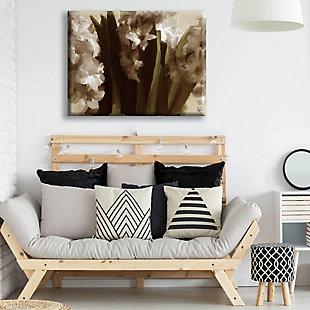 Vase Delta 24X36 Canvas Wall Art, Black, rollover