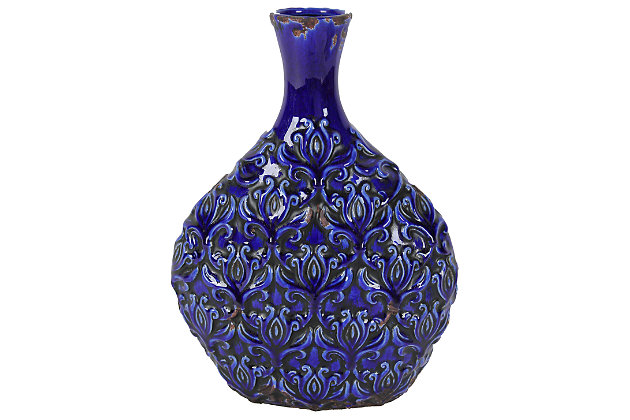 Home Accents Vase by Ashley HomeStore, Blue