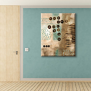 Bouncing Coffee Beans 30X40 Canvas Wall Art, , rollover