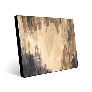 Neutral Cave Of Dreams Beta 24X36 Metal Wall Art, Brown, large