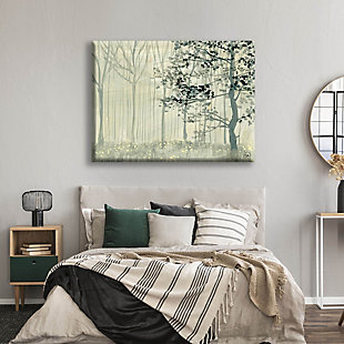 Misty Forest Alpha 24X36 Canvas Wall Art, , rollover