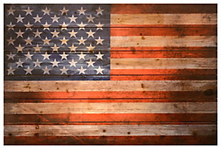 Home Accents American Dream Wood Art, , rollover