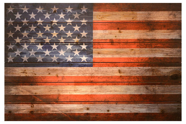 Home Accents American Dream Wood Art, , large