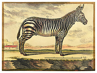 Home Accents Diderot Zebra Plaster Art, , large