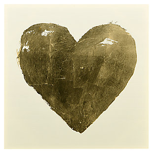 Home Accents Heart Canvas Art, , large