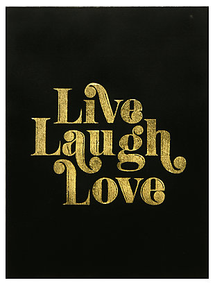 Home Accents Live Laugh Love Canvas Art, , rollover