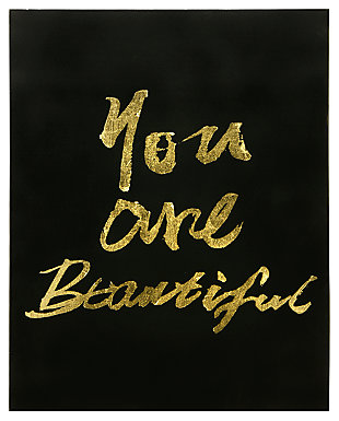 Home Accents You Are Beautiful Canvas Art, , rollover