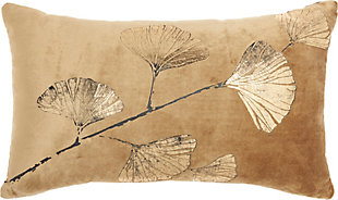 """Nourison Mina Victory Luminecence 14"""" x 20"""" Throw Pillow, , large"""