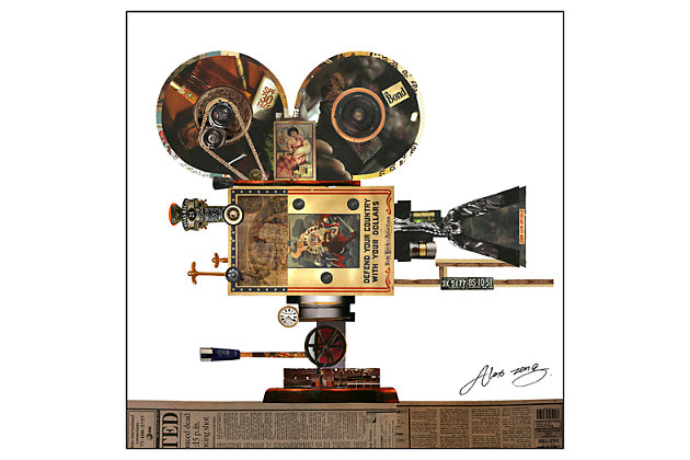 Home Accents Projector Collage Art by Ashley HomeStore, Multi