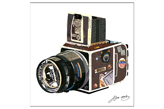 Home Accents Camera Collage Art by Ashley HomeStore, Multi