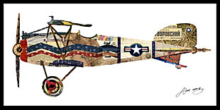 Home Accents Vintage Plane Collage Art, , rollover