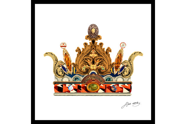 Home Accents Queen Crown Collage Art by Ashley HomeStore,...