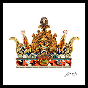 Home Accents Queen Crown Collage Art, , large