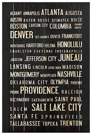 Home Accents USA Cities Wall Art, , rollover