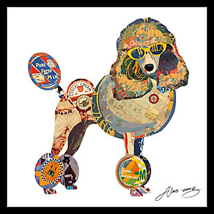 Home Accents Poodle Collage Art, , rollover