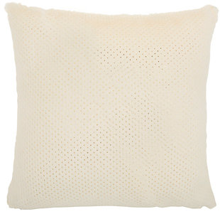 "Nourison Nourison Fur 22"" x 22"" Throw Pillow, , large"